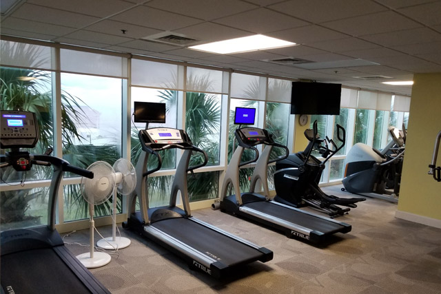 Fitness Center Gulf Shores Condo