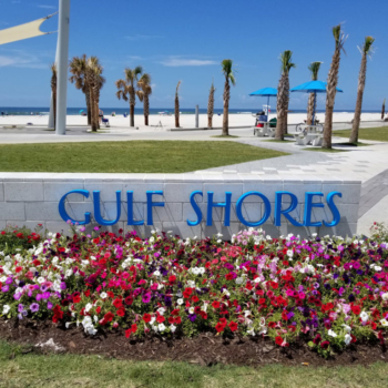 Gulf Shores Sign