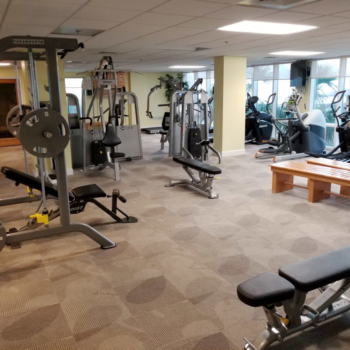 Gym at Gulf Shores Condo Rental