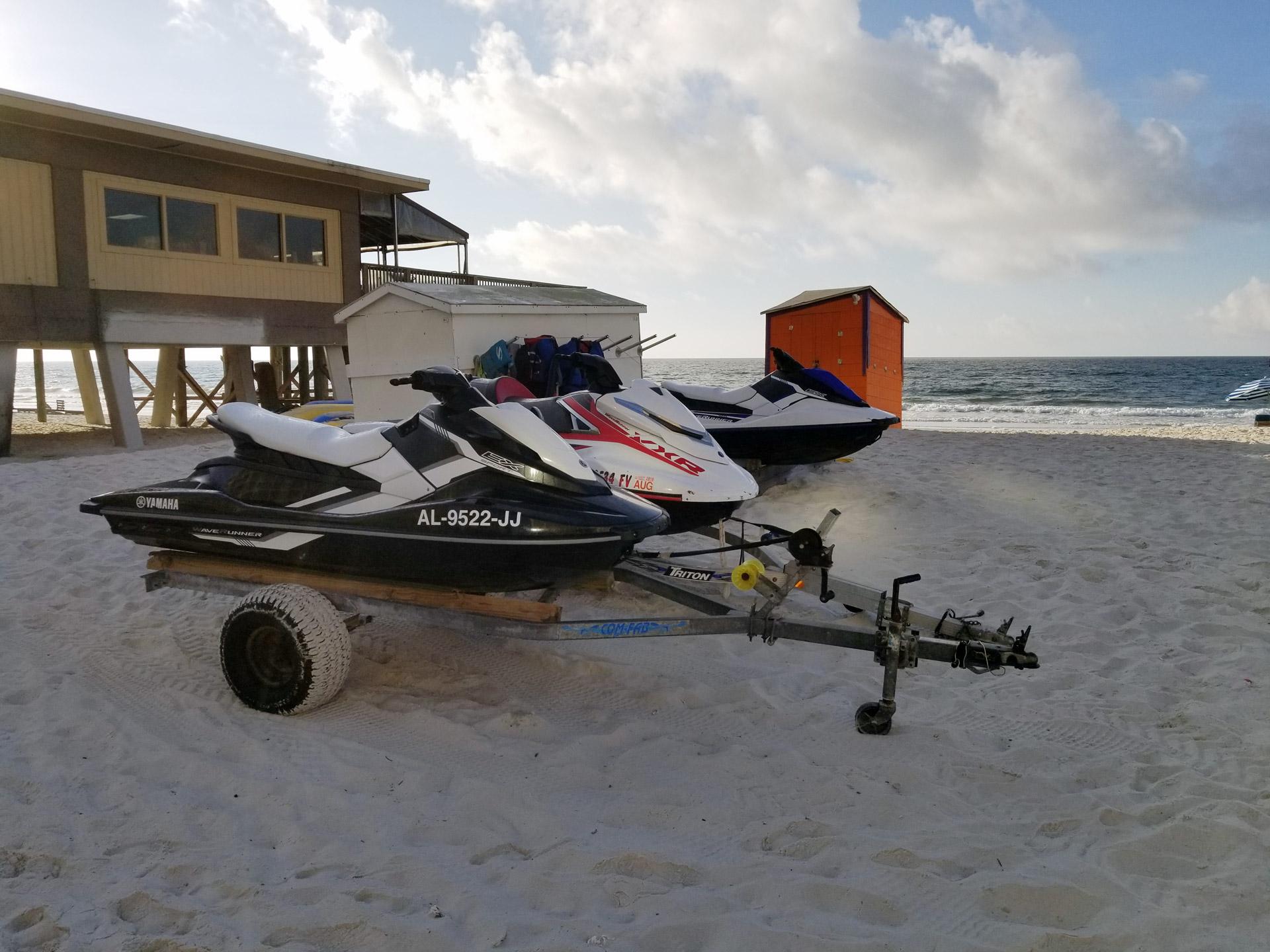 Jet Ski Rentals in Gulf Shores