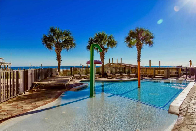 Balcony at Beachfront Condo in Gulf Shores, AL