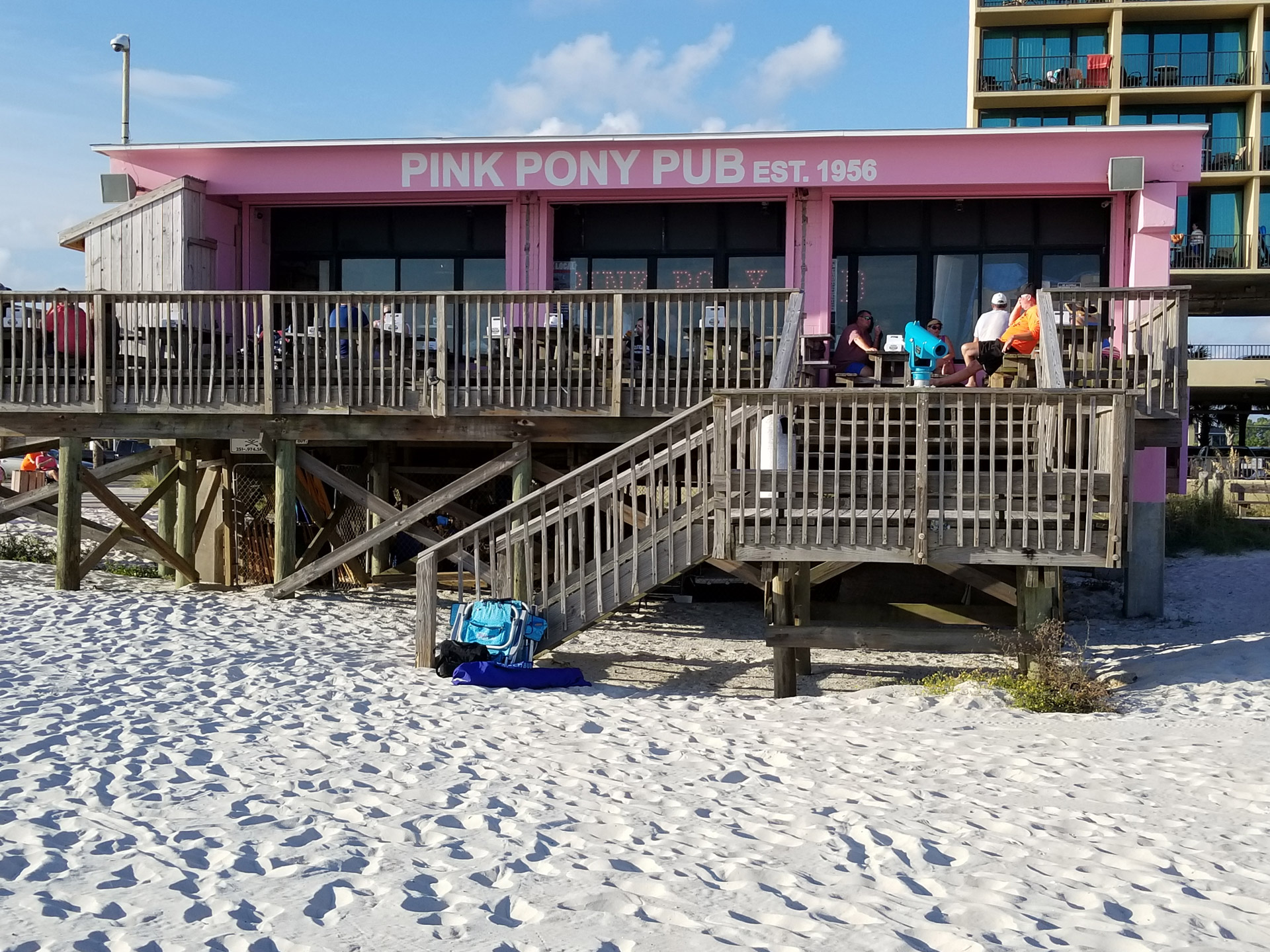Pink Pony Pub in Gulf Shores
