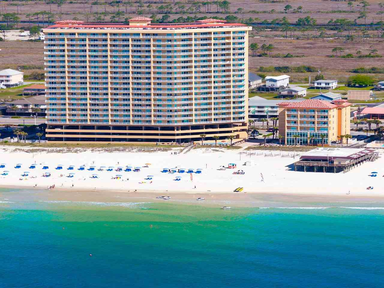Seawind Condo View from the Gulf of Mexico