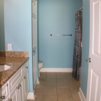 Master Bathroom with Granite Countertops